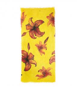 FOULARD DEGAS - sfondo giallo
