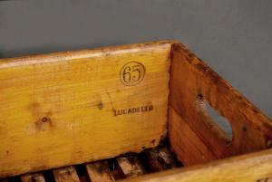 Cassetta vintage birra Itala Pilsen