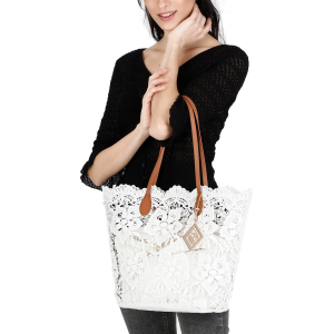 Shopping Bag in pizzo
