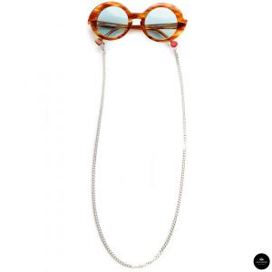 Catenella occhiali In metallo SILVER
