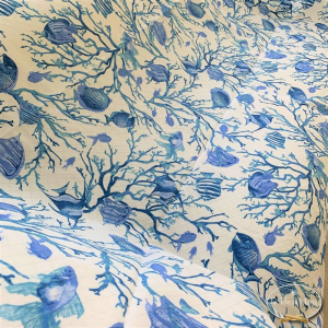Telo Granfoulard Caraibi blu