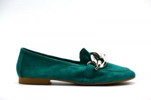 NOVITA' P/E 2021 Formentini Calzatura Donna- Camoscio Smeraldo 10501