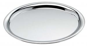 Vassoio ovale in acciaio cromato