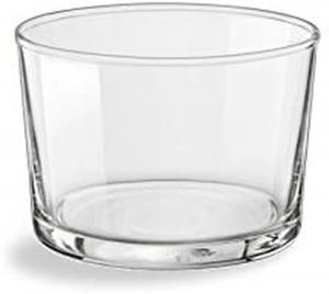 Set 36 pz Bicchiere mini in vetro Bodega 22,5 cl cm.5,9h diam.8,2