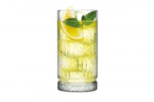 Set 4 Bicchieri in Vetro Elysia Long Drink cl 44.5 cm.15,6x15,6x15,6h