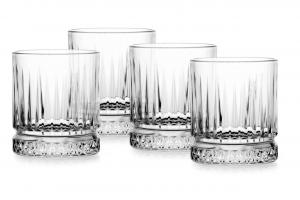 Set 4 bicchieri in vetro whisky, Elysia cl 35,5 cm.9,8h diam.8,4