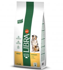 Libra Dog - Adult - Pollo - 12 kg - 5 sacchi + 1 omaggio