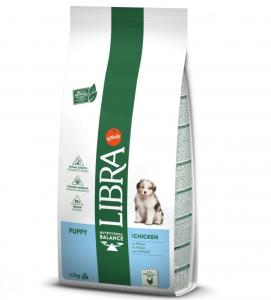Libra Dog - Puppy - Pollo - 12 kg - 5 sacchi + 1 omaggio