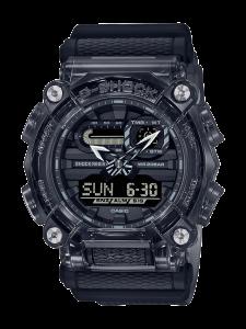 Casio G-Shock Skeleton, orologio digitale multifunzione, cassa nera, particolari trasparenti