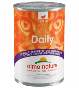 Almo Nature - Daily Cat - Adult - 400g x 6 lattine