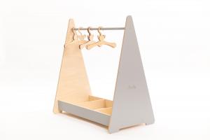 Clothing Rack – Appendiabiti Montessori con vano portaoggetti