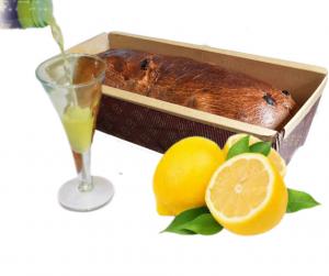 TRONCHETTO LIMONE imbibito con liquore al limone 400g
