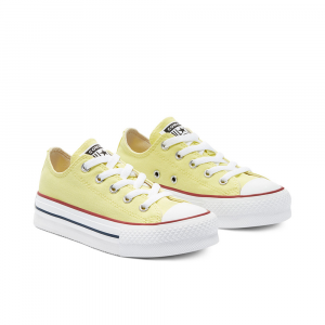 Converse Chuck Taylor Platform All Star Low Top Gialle Unisex