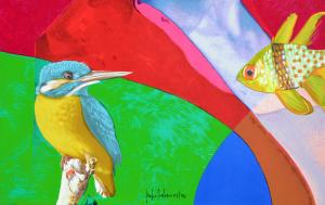 Delasco Pietro Eden 2 Serigrafia Formato cm 80x80