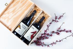 Gift Box 2 bottiglie + cassetta di legno