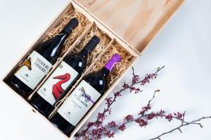 Gift Box 3 bottiglie + cassetta di legno