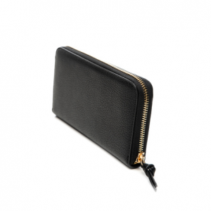Portafoglio XL Zip Around con logo LIU JO