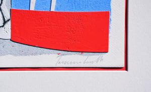 Cascella Tommaso Settembre Serigrafia Formato cm 35x26