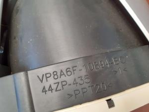 Quadro strum. usato F. Fiesta 1.4 TDCI 2008>2013<