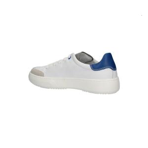 Sneaker in pelle con logo
