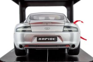Aston Martin Rapide Silver 1/18 Autoart