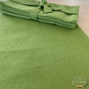 Set 4 tovaglioli verde