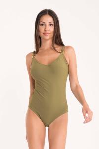 Costume da bagno intero per donna verde MIRADONNA