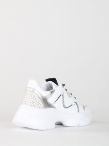 MANILA GRACE Sneakers  S012EW CHUNKY in pelle con strass applicati