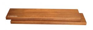 Estante de madera con fijación