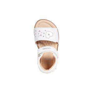 B Verred Girl sandalo in tela glitter