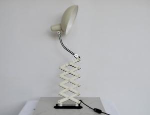 Lampada vintage a pantografo anni '50