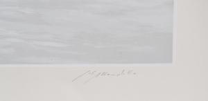 Mondelli Giò Composizione 23 Serigrafia e Litografia Form. cm 54x135