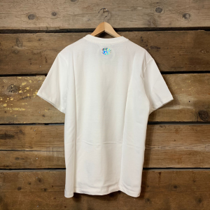 Maglia Barrow Jersey T-Shirt Unisex Stampa Smile Chain Off White