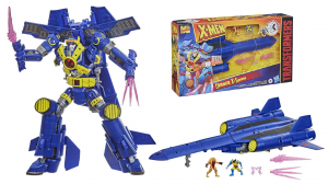 Transformers x X-Men: ULTIMATE X-SPANSE X-Jet by Hasbro
