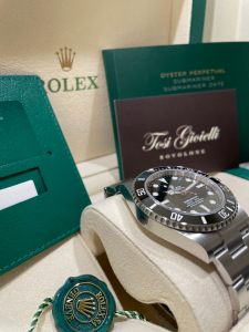 Rolex SUBMARINER NO DATE  124060