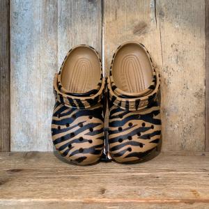 Ciabatta Crocs Classic Animal Print Clog Zebra Print