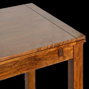 Tavolo allungabile a libro in legno di acacia thailandese