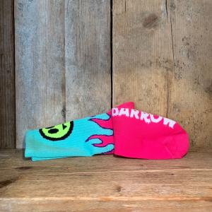 Calzino Barrow Socks Unisex Tiffany Con Fiamme
