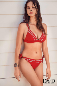 Costume da bagno per donna bikini due pezzi rosso DAVID