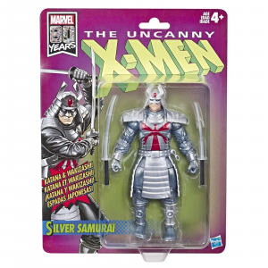 Marvel Legends Retro Collection: X-Men SILVER SAMURAI by Hasbro