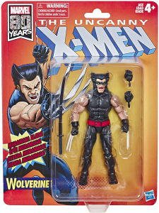 Marvel Legends Retro Collection: X-Men WOLVERINE by Hasbro