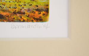 Zambrelli Marco Incisione Inverno Formato cm 35x50