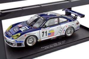 Porsche 911 (996) Gt3 Rsr Alms 2005 Alex Job #71 1/18 Autoart