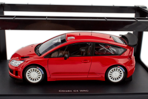 Citroen C4 WRC Plain Body Version Red 1/18 Autoart