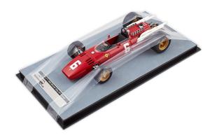 Ferrari 312F1 1966 Monza Gp Italy Winner #6 L. Scarfiotti Ltd 245 Pcs 1/18 Tecnomodel