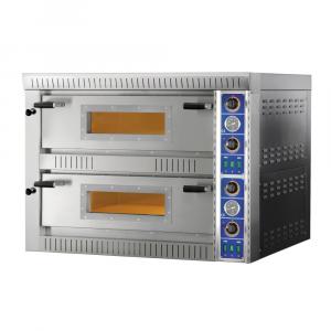Forno Pizza Professionale SBD44 - 4+4 x Ø 30 cm