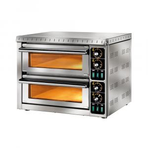 Forno Pizza Professionale MD1+1 - 1+1 x Ø 35 cm