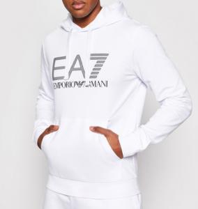Felpa uomo ARMANI EA7 con cappuccio e logo