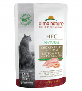 Almo Nature - HFC Cat - Adult - Natural - 55g x 24 buste