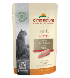 Almo Nature - HFC Cat - Kitten - Complete - 55g x 6 buste